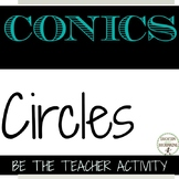 Conic Sections Circles Error Analysis Activity