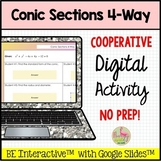 Conic Sections Digital 4-Way Activity for Google Slides™ D