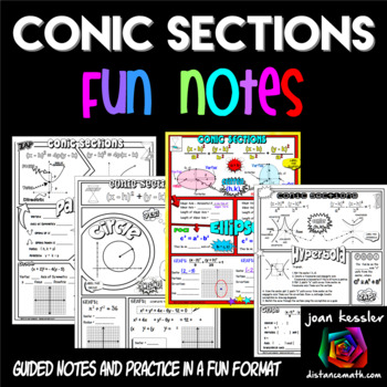 Conic Sections Doodle Notes