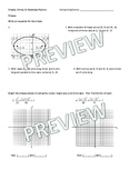 Conic Sections (Parabolas, Ellipses, & Circles) Practice +