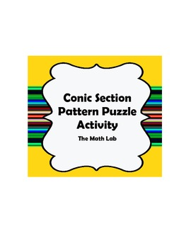 Conic Sections Pattern Puzzle