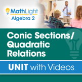 Conic Sections / Quadratic Relations   Algebra 2 Unit with