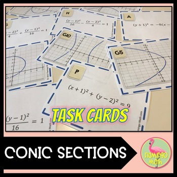 precalculus algebra 2 conic sections sort and match activity by jean adams. Black Bedroom Furniture Sets. Home Design Ideas