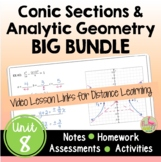 Conic Sections and Analytic Geometry BIG Bundle with Lesso