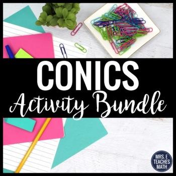 Conics Activities Bundle