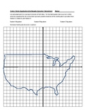 Conics Circles Application Activity: Earthquake Epicenters