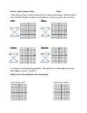 Conics Circles Worksheet