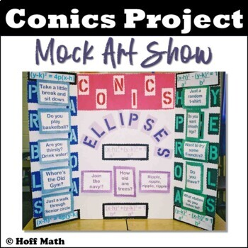 Conics Project: Poster for an Art Show