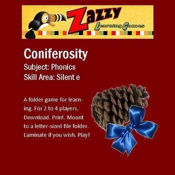 Coniferosity Folder Game for Silent e