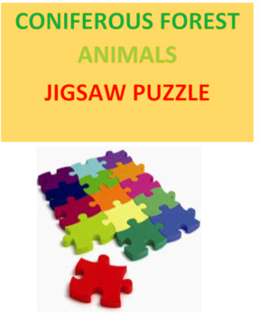 Coniferous Forest Animals Jigsaw Puzzle