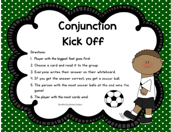 Conjuction Kick Off
