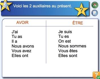 Conjugaison AVOIR et ÊTRE // Leçon sur Notebook