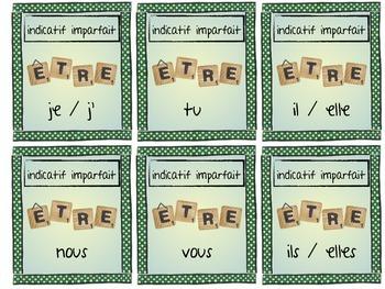 Conjugaison de verbe - un jeu pour apprendre