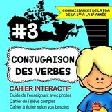 Cahier Interactif / Conjugaison des verbes en français / French present tense