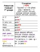 Extensive & Simplified French Verbs Posters: Présent, Pass