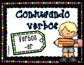 Conjugando verbos -er