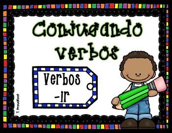 Conjugando verbos -ir