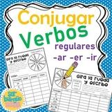 Conjugar verbos regulares -ar  -er  -ir