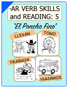 Conjugate Spanish -AR Verbs: Step-by-Step Verb Skills With Reading #5
