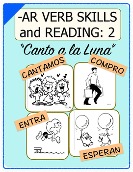 Conjugate Spanish -AR Verbs: Step-by-Step Verb Skills With Reading #2