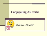 Conjugating AR Verbs in Spanish PowerPoint