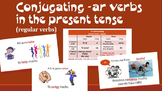 Conjugating -AR verbs in the Present Tense Spanish 1 Presentation