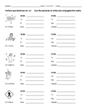 Conjugating -Ar Verbs Worksheet