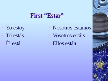 Conjugating Present Progressive in Spanish