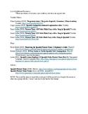 Conjugating Present Tense Verbs Resource List