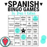 Conjugating Spanish Verbs Bingo - Ir, Dar & Estar