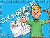 Conjugating Spanish verbs -game/ Conjugando verbos -juego