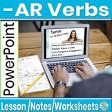 Conjugating -ar verbs in the present tense-animated, inter