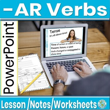 Conjugating -ar verbs in the present tense-animated, interactive PowerPoint