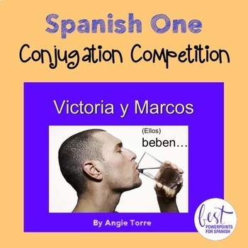 Conjugation Competition for Spanish One