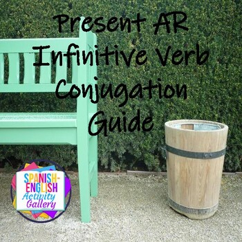 Conjugation Interactive Notebook - AR Present Tense