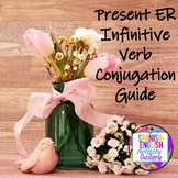 Conjugation Interactive Notebook - ER Present Tense