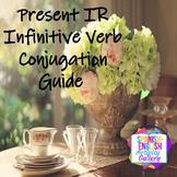 Conjugation Interactive Notebook - IR  Present Tense