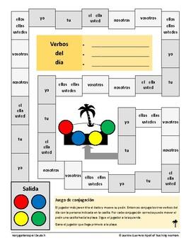 Conjugation Games - Juegos de Conjugación