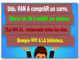 "Conjugation of Verb ""IR"" Spanish I and II based on Realida"