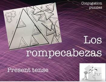 Conjugation puzzle: AR