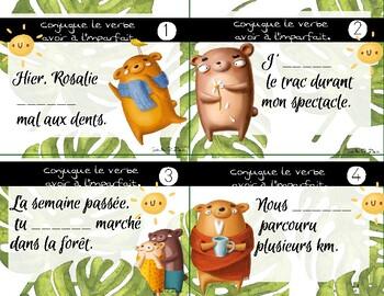 Conjugue Le Verbe Avoir A L Imparfait By Madame Soleil Tpt