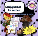 Conjuguemos los verbos radicales de la bota (STEM -Changin