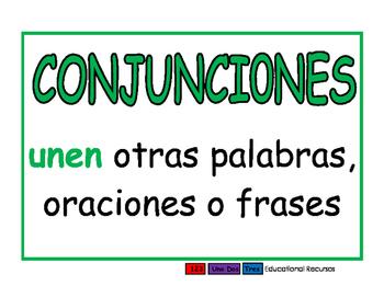 Conjunciones verde