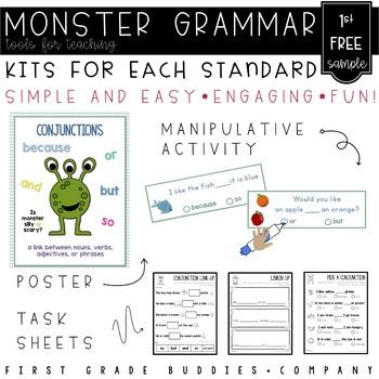Conjunctions | 1st Grade Grammar | Mini Lesson