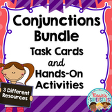 Conjunctions: Task Cards and Hands-On Activities