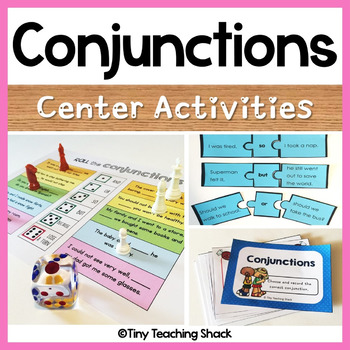 Conjunction Center Activities (so, but, and, or, because/for)