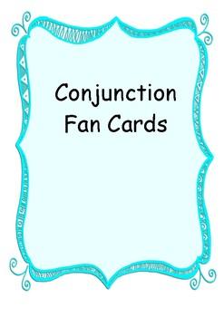 Conjunction Fan Cards