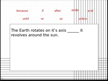 Conjunction Game Powerpoint