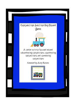 Conjunction Junction Board Game