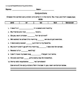 Conjunction Quiz